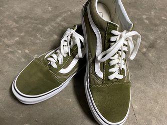 Vans Old Skool Low Top Olive Green Size 10 for Sale in Fremont,  CA