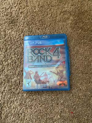 Rock Band 4 W/ Guitar for Sale in Painesville, OH