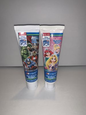 Crest pro health kids toothpaste for Sale in Costa Mesa, CA