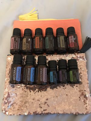 Used 100% Doterra oils discounted for Sale in Fort McDowell, AZ