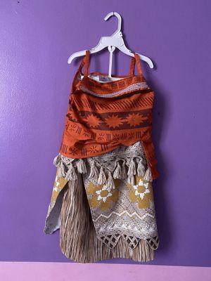 Costume Disney Moana, Jasmine, and Merida. Size 7/8 $10 each for Sale in Rialto, CA
