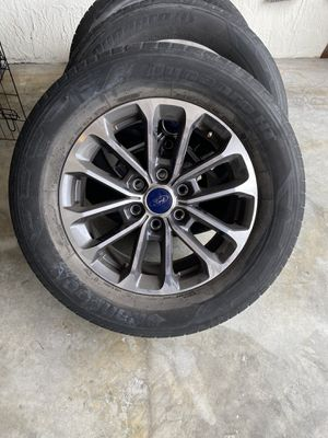 2018 Ford F-150 18 in rims with tires for Sale in Hialeah, FL