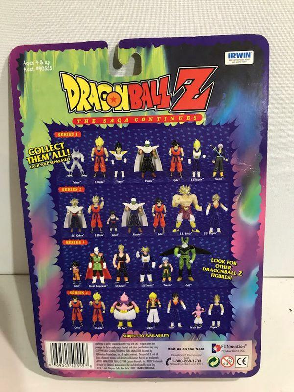 DRAGONBALL Z Saga Continues SUPER SAIYAN PICCOLO Series 2 NEW Vintage Toy