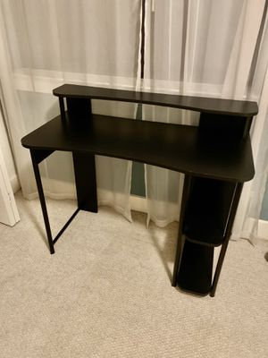 Office desk with shelves for Sale in Houston, TX