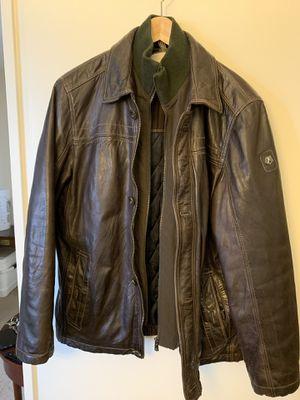 Leather jacket (lamb skin), Milestone, men's size L for Sale in Arlington, VA