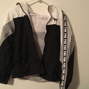 VS Pink Windbreaker Hoodie for Sale in Las Vegas, NV