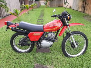 1980 Honda xl250s witt 3500 miles for Sale in North Miami Beach, FL