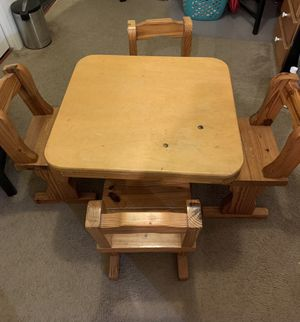 Kids Table and Chairs for Sale in Spring Hill, FL