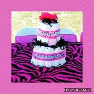 Diaper Cake for Sale in Huntington Beach, CA