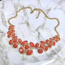 Charming Charlie red & goldtone necklace for Sale in Manassas,  VA