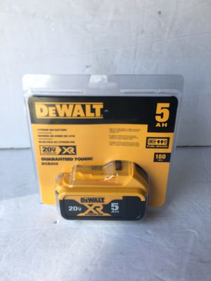 DEWALT BATTERY DRILL ( 5.0ah ) for Sale in Tamarac, FL