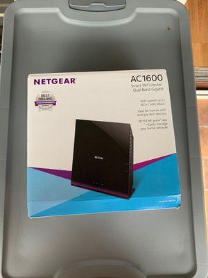 Netgear AC 1600 smarth WIFI Router for Sale in Miami, FL