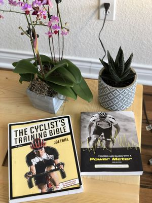 The cyclist training bible & training and racing with a power meter books for Sale in Morrison, CO