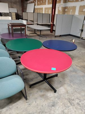 "48"" round table metal base for Sale in San Antonio, TX"