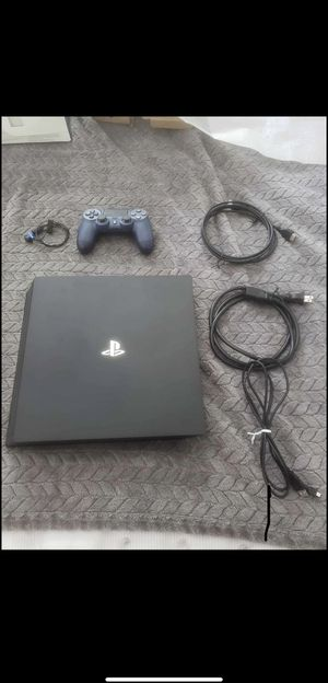 PS4 Pro 1Tb 4K/ With Power cable & Controller for Sale in Annandale, VA