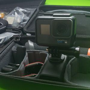 GoPro 6 Black + Accessories for Sale in Phoenix, AZ