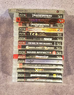 SONY PS3 GAMES *HMU 4 PRICES for Sale in Tucson, AZ
