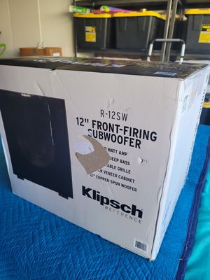 "12"" Klipsch Subwoofer 400w for Sale in Los Angeles, CA"