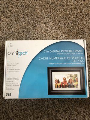 "OmniTech 7"" Digital Picture Frame for Sale in Amarillo, TX"