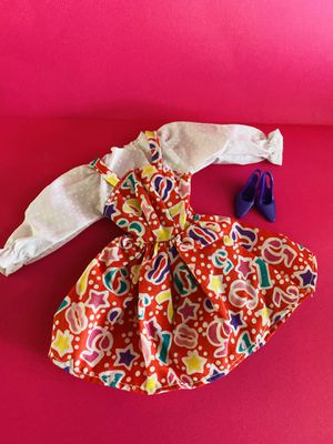 Barbie Dress 1PC with Shoes for Sale in Huntington Beach, CA