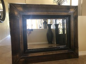 Studded large mirror for Sale in Yorba Linda, CA