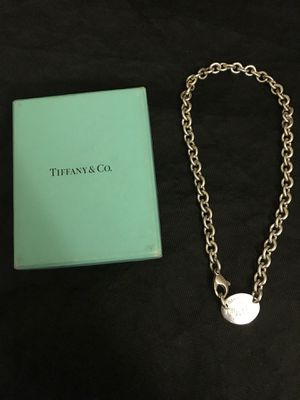 Tiffany & co woman's necklace for Sale in Adelphi, MD