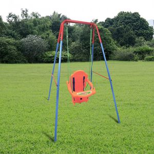 Kid swing Retail 69.99 My price 50.00 Outdoor Backyard Playground Children Swing Set with Rope for Sale in Fontana, CA