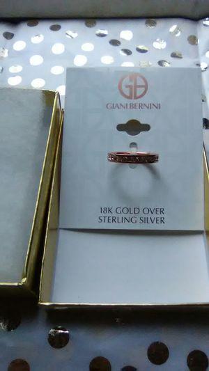 18K/SS Swavorski Crystal Ring for Sale in Columbus, OH