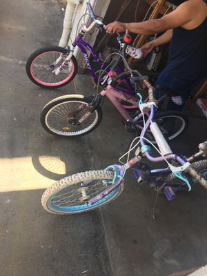 Three girl bikes for Sale in San Diego, CA