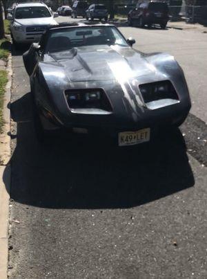 1979 Chevy Corvette stingray t-tops for Sale in Paterson, NJ