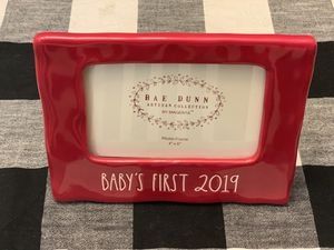 Rae Dunn BABY'S FIRST 2019 picture frame for Sale in Fontana, CA