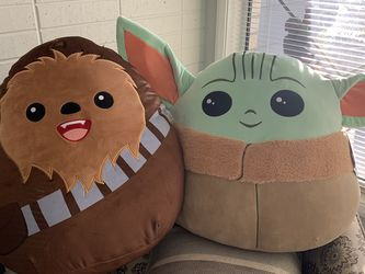 Giant Baby Yoda & Chubacha Squishmallow for Sale in Vancouver,  WA