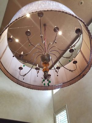 Very Large Vintage Great Room/Foyer restaurant bar Chandelier Light Fixture for Sale in Miami, FL