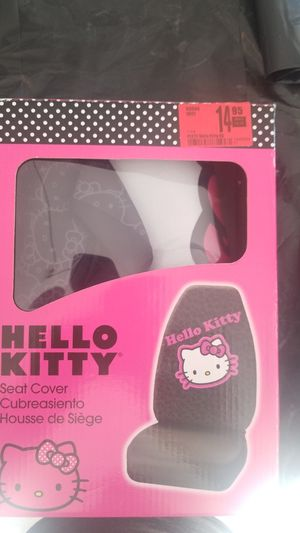 Hello Kitty seat cover for Sale in Dale City, VA