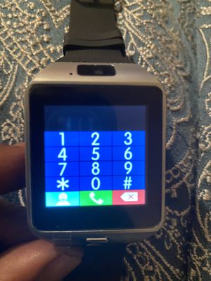 Brand new Smart watch Bluetooth connect to any iPhone or android phone for Sale in Lake Charles, LA