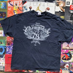 2009 World Series Champions New York Yankees Navy t-shirt for Sale in North Las Vegas, NV