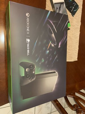 XBOX ONE X SCORPIO LIMITED TACO BELL EDITION for Sale in Irving, TX