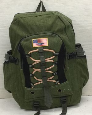 """Large hiking cotton canvas backpack size 21""""x14""""x7"""" for Sale in Vernon, CA"""