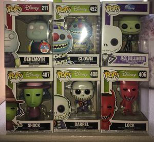 A Nightmare Before Christmas Funko Pops Lot for Sale in Las Vegas, NV