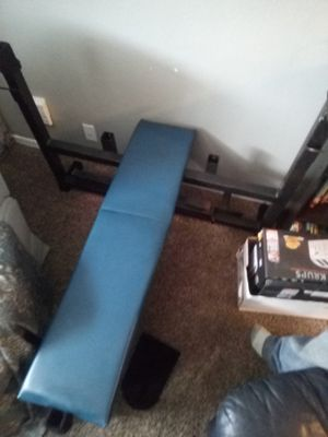 Olympic style weight bench for Sale in Oklahoma City, OK