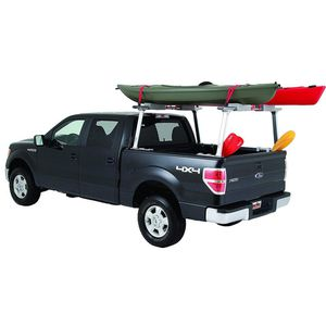 TracONE Universal Truck Bed Ladder Rack 800 lbs. Capacity Silver Powder Coat Finish for Sale in North Las Vegas, NV