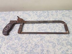 Antique K-D Kay-Dee Convertible Saw Hack Saw Frame Tool Lancaster PA Pat. 1921 for Sale in Rockville, MD