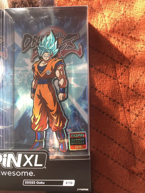 Goku FigPin Xl