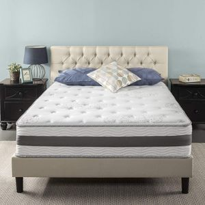 New In Box! Zinus 12 Inch Gel-Infused Memory Foam Hybrid Mattress, Queen Size for Sale in Mason, OH
