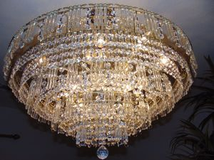 Big crystal chandelier for Sale in Las Vegas, NV