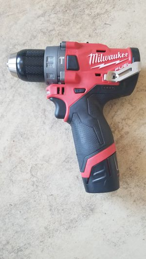 New Milwaukee FUEL 12-Volt Lithium-Ion 1/2 in. Hammer Drill (2504-20) for Sale in Santa Ana, CA