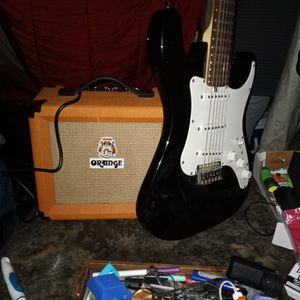 Lyon by Washburn Guitar. Orange Amp Crush Ten for Sale in Vancouver, WA