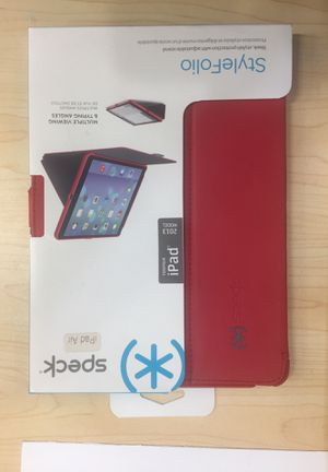 Speck StyleFolio iPad Air Red for Sale in Chicago, IL
