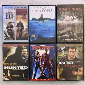 7 DVD Action Movies for Sale in Southgate, MI