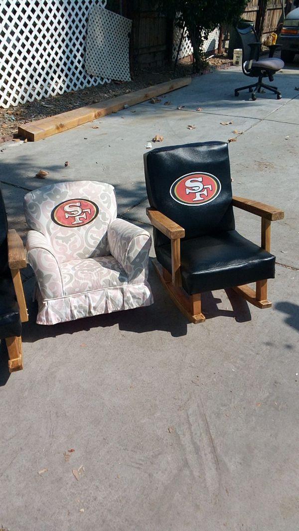 Handmade 49er rocking chair